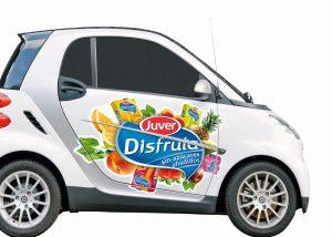 Adhesivos para coches de empresa